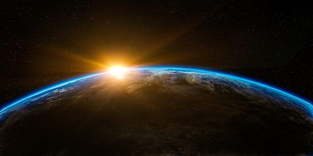 Jeff Bezos superó la Línea de Kármán, que separa la Tierra del universo