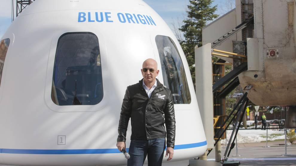 Hoy la prioridad de Jeff Bezos es Blue Origin