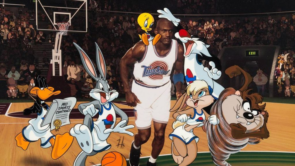 Michael Jordan ha participado en películas y videojuegos