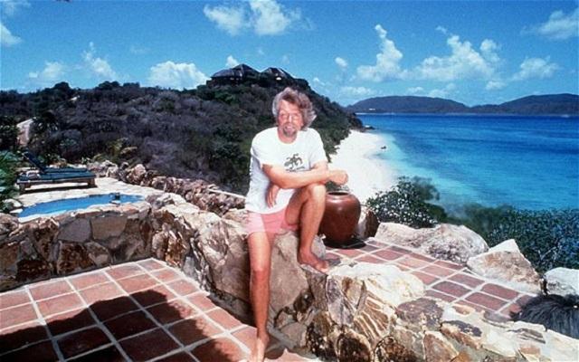 Richard Branson posee varias islas