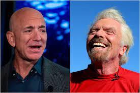 Richard Branson y Jeff Bezos: ¿quién llegará primero al espacio?