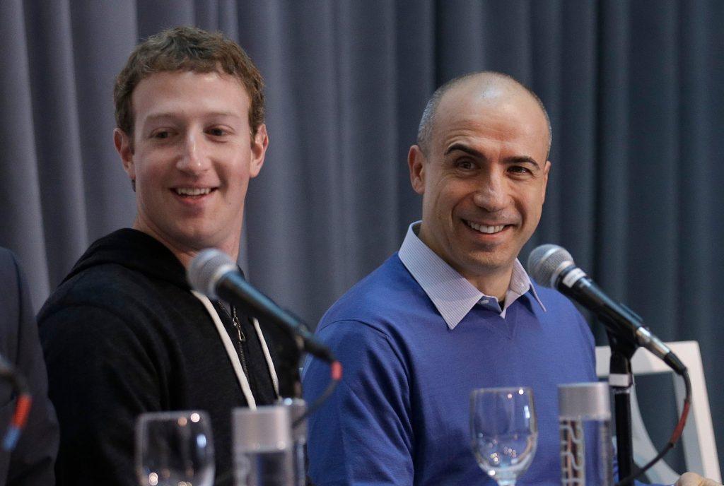 Mark Zuckerberg y Yuri Milner desarrollan proyectos juntos
