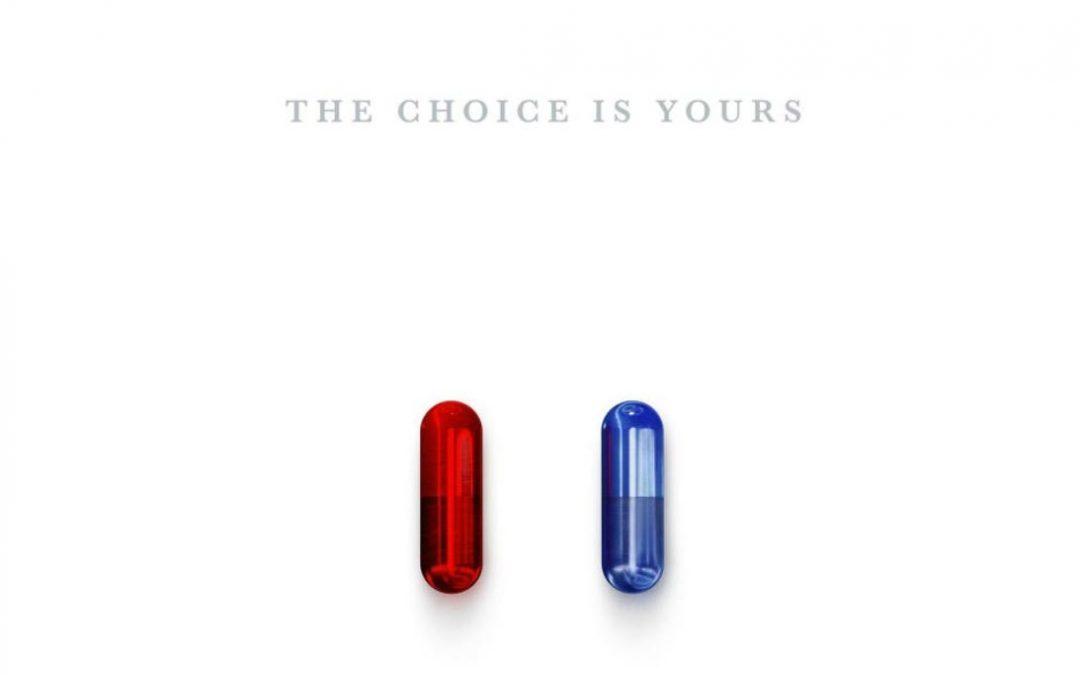 Pastilla Roja O Pastilla Azul - Cuál Opción Tomarías – Hyenuk Chu