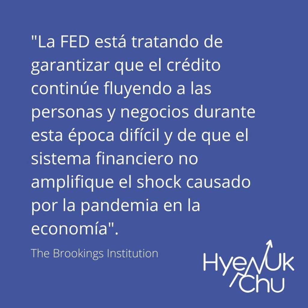 Lo que une a Reserva Federal y COVID